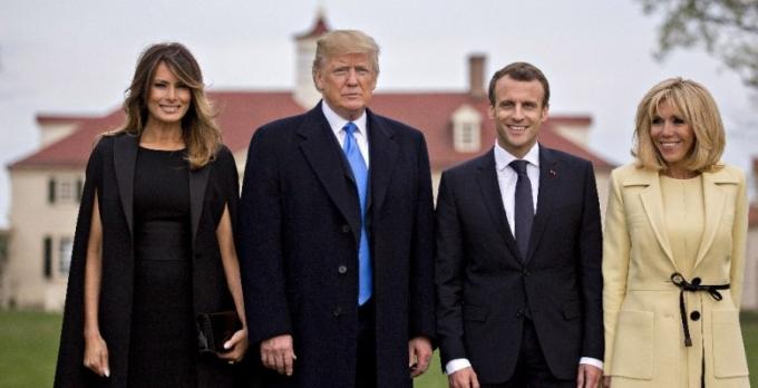 Brigitte Macron Melania Trump Hapis Hayati Yasiyor